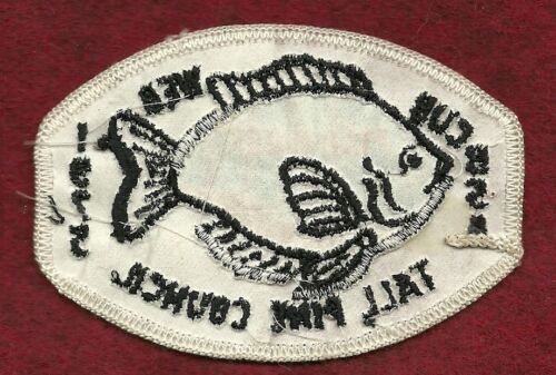 VINTAGE  BOY SCOUT TALL PINE CONUCIL 1975 CUB FISH-O-REE