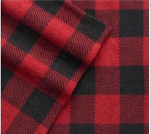 Cuddl-Duds-Printed-Fleece-Sheet-Set-Queen-Size-Red-Black-Buffalo-Or-Polk