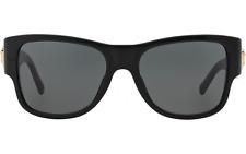 NWT Versace Sunglasses VE 4275 GB1/87 Black / Gray 58 mm VE4275 GB187 NIB