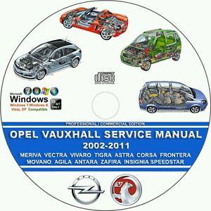 opel vauxhall astra frontera corsa tigra 2002 2011 service rh ebay com Auto Repair Manuals Online auto repair manual downloads free