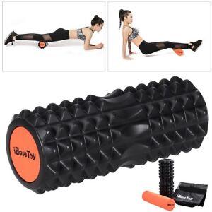 2 in 1 eva physio foam roller yoga pilates gym exercise