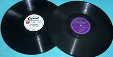 Jan Garber No Orchids For My Lady, Velvet Lips, Tie Me To Your Apron Strings 78s