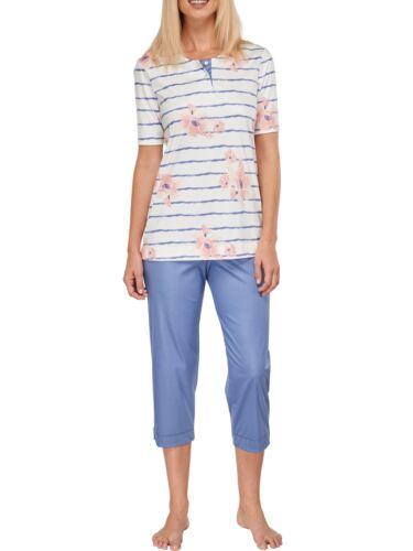Kurzarm 1//2 151933 Schiesser Damen Schlafanzug Pyjama 3//4 Lang Dolce