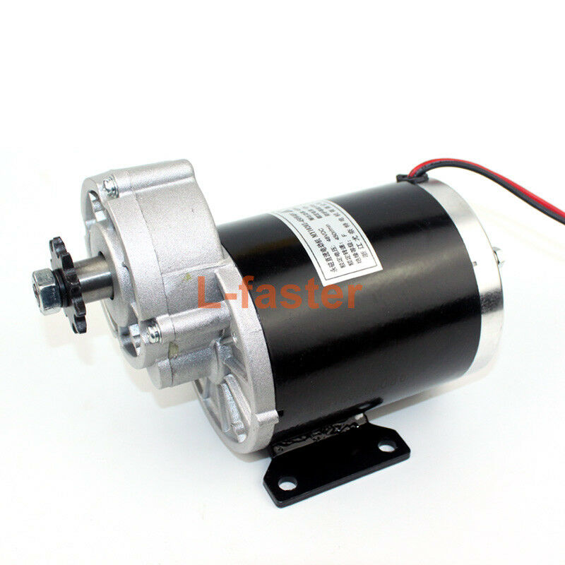 36V48V 600W Electric Bike Brush Motor Electric Tricycle DC Motor MY1020Z Electri