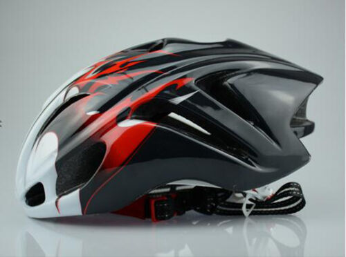 road Bike Bicycle flame Cycling Outdoor AERO Helmet M L