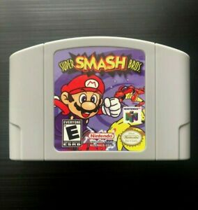 Super-Smash-Bros-Nintendo-64-1999-N64-Tested-Working-Great-Gift-Read