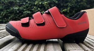 Shimano XC1 MTB Shoes Red EU 38