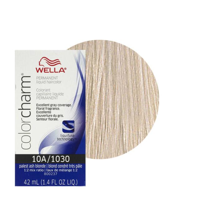 Wella Color charm 10A / 1030 Palest Ash Blonde Professional Hair colour Dye