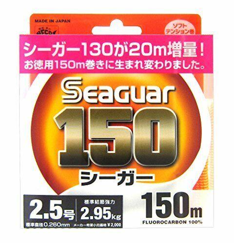 KUREHA Seaguar 150m #10 Fishing Line  NEW From JAPAN