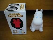 MOOMINTROLL MoominValley Moomin Light Night Lamp Colorful 10cm (Battery) JAPAN