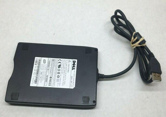 "NEW Dell 09W031 Teac FD-05PUB USB 3.5/"" External Floppy Drive Module"