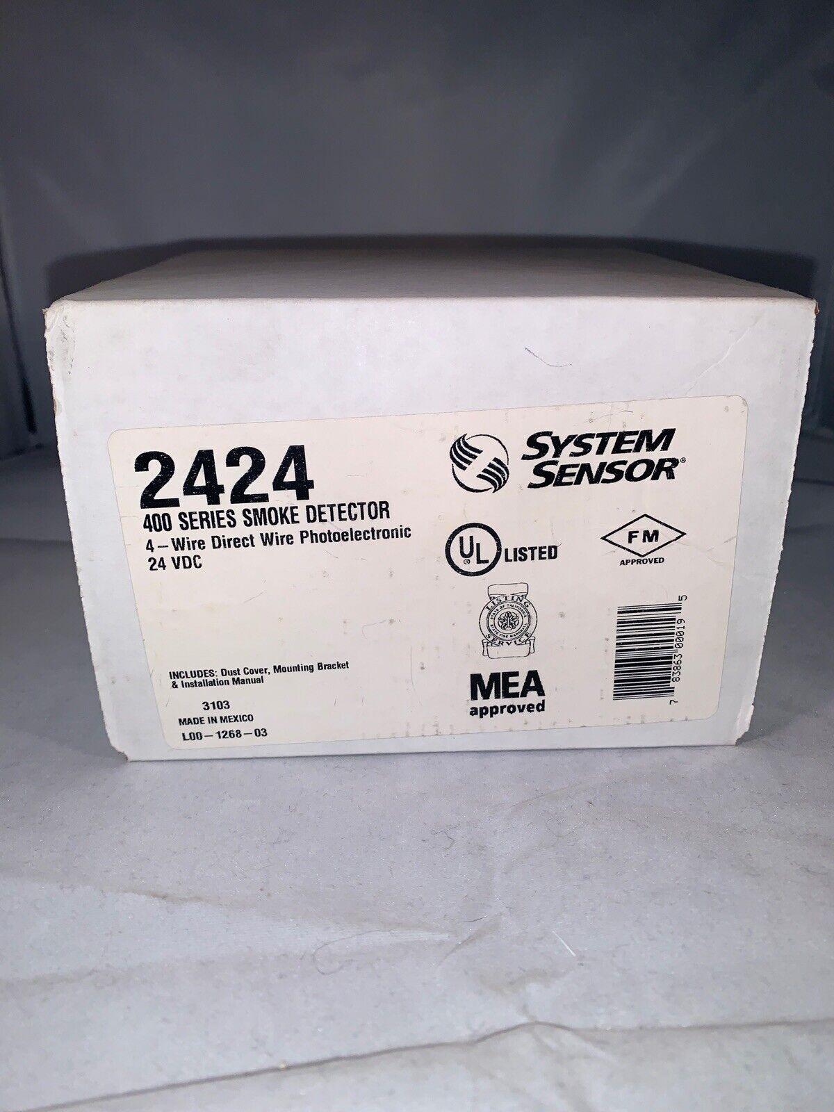 Mircom 500 Series MIR-545TU Direct Wire Photoelectric Smoke Fire Detector