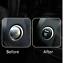 Red Mercedes Benz Engine Start Button Carbon Fibre Cover Sticker  A B C GLC GLA
