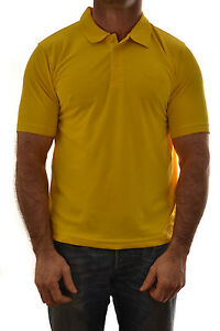 REGATTA-MENS-AXIS-CASUAL-POLO-SHIRT-CITRUS-YELLOW-MS325-B2