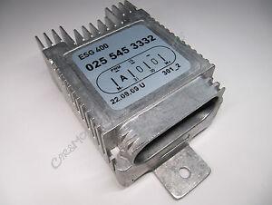 MERCEDES-ventilateur-regulateur-unite-de-commande-climatisation-ventilation-0255453332-w202-w210
