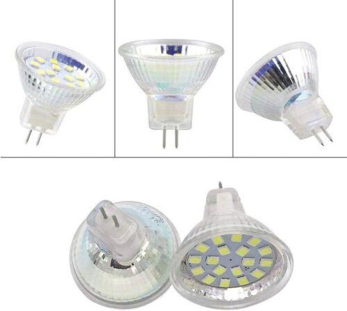 20PCS 5W//3W MR11 LED Light Bulb Halogen Lamp GU4.0 BI PIN Spotlights 12V AC//DC