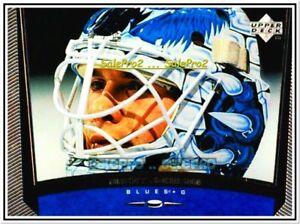 UPPER-DECK-1998-BRENT-JOHNSON-NHL-RC-ST-LOUIS-BLUES-GOALIE-MINT-ROOKIE-358