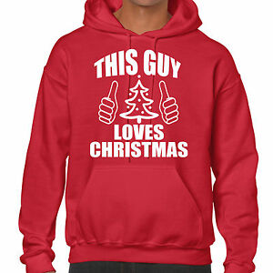 image is loading grabmybits this guy love christmas hoodie xmas sweatshirt - Christmas Hoodie