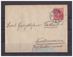 Empire-Allemand-Minr-71-Harmand-apres-Nordhemmern-27-11-1915