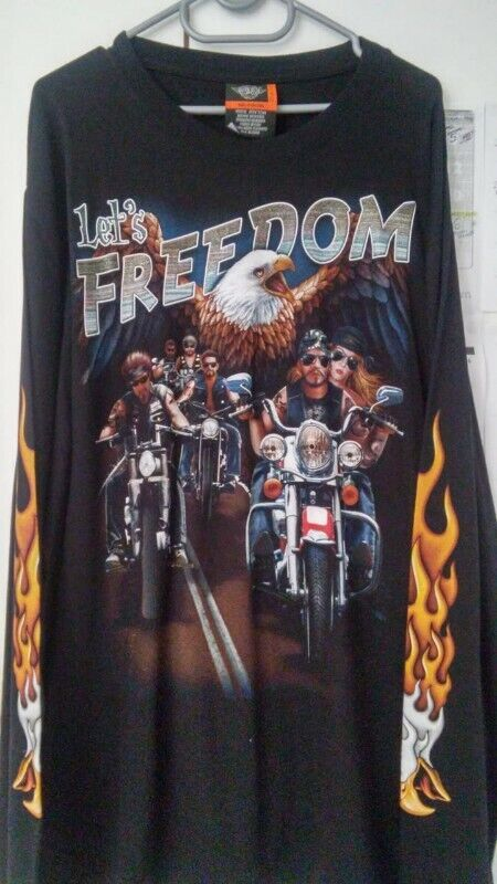 Biker t shirts, wolf t shirts at Wholesale prices