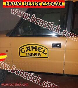 2xSticker-Vinilos-Pegatinas-Decal-Calcomania-Coche-4x4-Land-Rover-Camel-Trophy