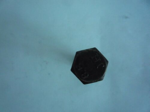 Paquete De 4 M12 X 25 Hexagonal Tornillos de conjunto de alta definición negro 8.8 HT Acero Tuercas /& S//Arandelas de prueba
