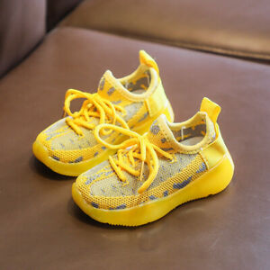 Kids Baby Infant Toddler Boys Girls Sports Walking Shoes Casual Breathable Shoes