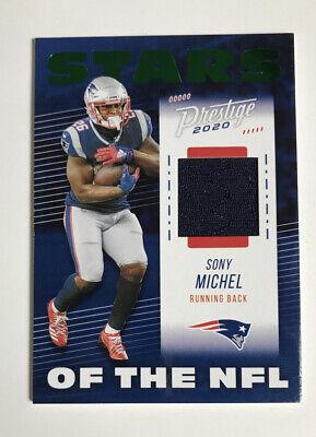 2020 Panini Prestige Stars of the NFL Sony Michel Jersey Card Green Xtra Points! | eBay