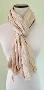Calvin-Klein-latte-scarf-wrap