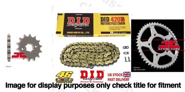 DID Gold Chain Sprocket Kit 11t 48t 420DGB 134 Rieju RS3 50 11-16