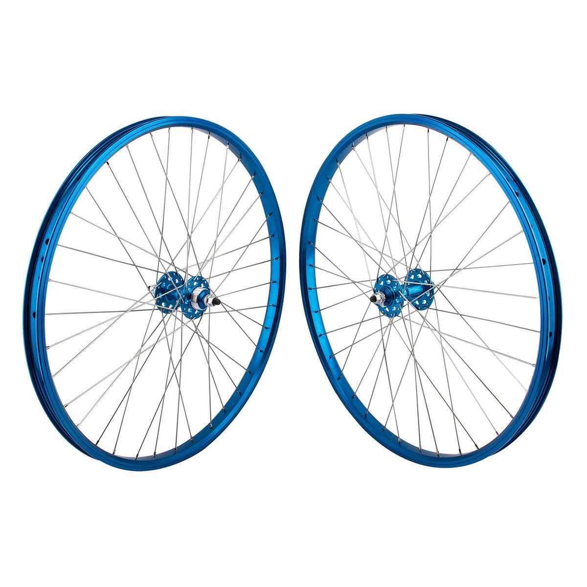SE Racing Wheelset - 26  - 36H - blueee - Double Wall - Sealed Bearing - FW