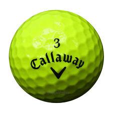 30 Callaway Superhot Gelb Golfbälle im Netzbeutel AAA/AAAA Lakeballs Super Hot