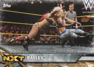 2017-Topps-Wwe-de-Mujer-Division-Cartas-Coleccionables-Momments-NXT-8-Bayley