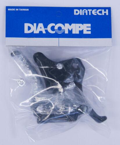 Pair // Clamp 22.2mm DIA-COMPE MX-122 Black BMX BRAKE LEVER