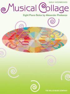 """""""musical Collage"""" Début De Niveau Intermédiaire Piano Solos-music Book-neuf En Promotion!!!-afficher Le Titre D'origine Par Processus Scientifique"""