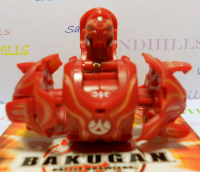 Bakugan Shadow Vulcan Tan Subterra Vestroia 550g /& Cards for sale online