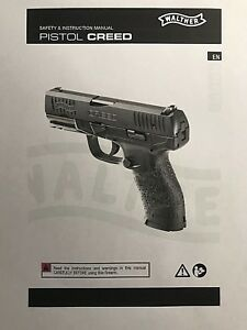 Walther Owners Manuals Ppq Q5 Creed Ccp Pk380 Ppk Ppks P22 P99 Pps