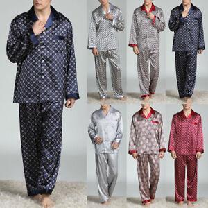 Doux-Pyjama-Hauts-pantalons-Vetement-de-nuit-Homme-Lounge-Maillots-de-bain-Mode