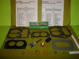 Details about CARBURETOR REBUILD KIT FOR HITACHI DCG306 DCH306 70-81 NISSAN  73-76 HONDA MAZDA