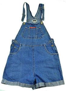 872755e46832 Womens Overalls Shorts M Bib Blue Jeans Demin Jumper 33