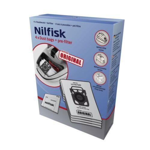 NILFISK VACUUM DUST BAGS FOR EXTREME AND ELITE 107407940 GENUINE IN HEIDELBERG