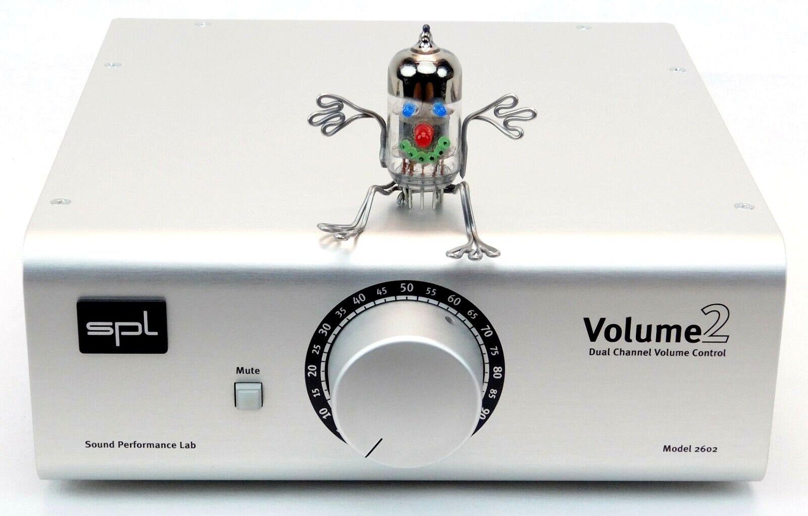 SPL Volume 2 High-End Stereo Volume Controller + Top Zustand + 1.5Jahre Garantie