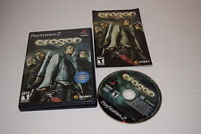 Eragon Sony Playstation 2 PS2 Video Game Complete
