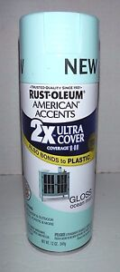 7 12 Oz Rust Oleum American Accent Ultra Cover 2x Spray Paint