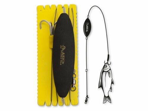 Black Cat U-Float Rig Treble Hook 120cm L-XL Catfish Rigs Leader