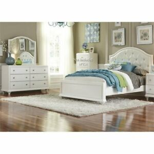 Liberty Furniture Stardust 3 Piece Twin Panel Bedroom Set In White Ebay