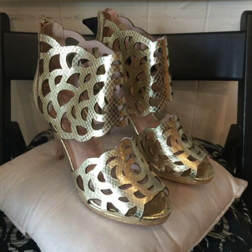 New Size 37 4 Sargossa Shoes Gold fwf6q