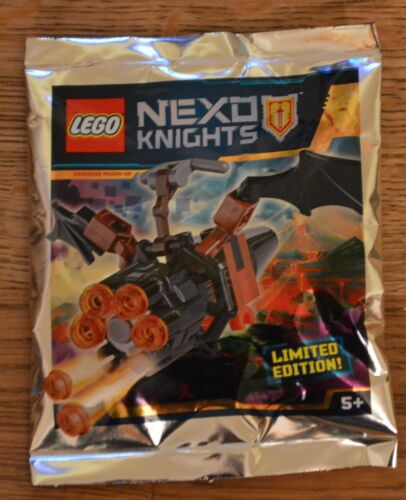 Lego® Nexo Knights™ Limited Edition Minifigur Fledermaus-Flitzer Neu /& OVP