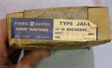 Nos General Electric Current Transformer Type Jai O Ratio 100 5 5 Amp