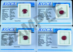 With-Certifcate-15-00-Cts-4-Pcs-Natural-Mozambique-Red-Ruby-Oval-Faceted-Gems